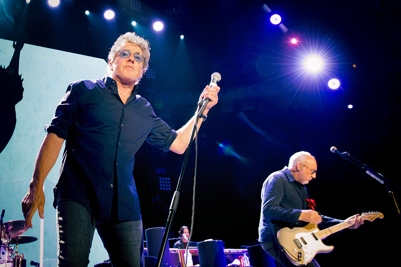 Roger Daltrey, Pete Townshend, The Who, Mathias Marchioni