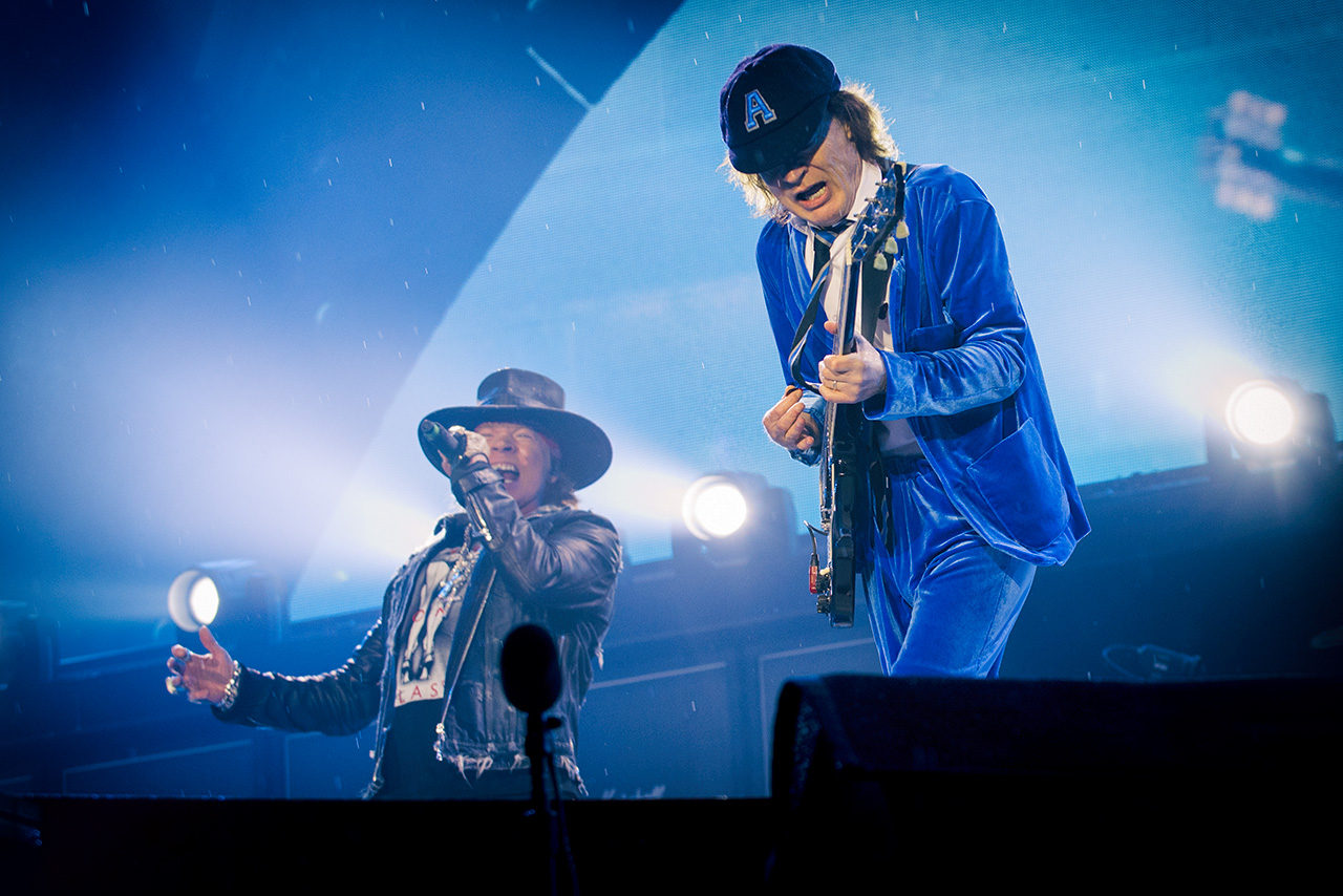 Axl Rose & Angus Young, Ac/Dc, Mathias Marchioni