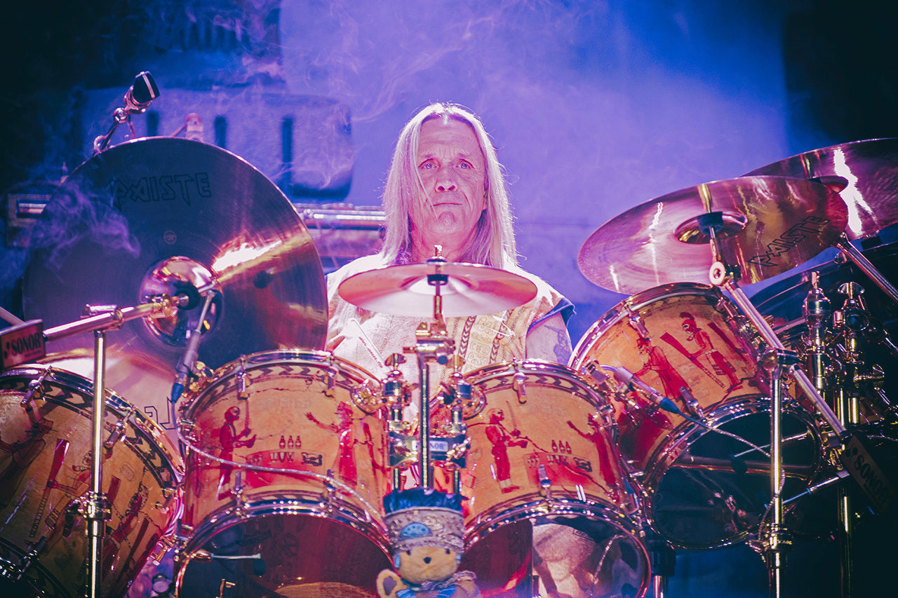 Nicko McBrain, iron Maiden, Mathias Marchioni