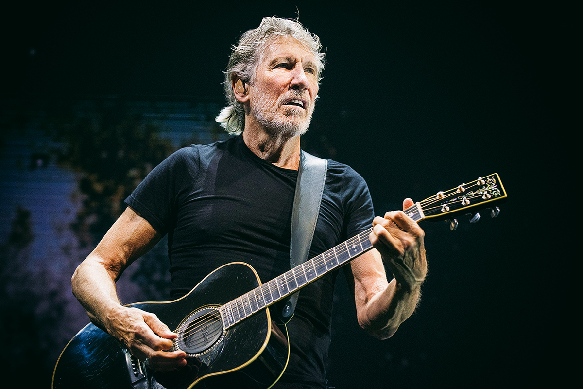 Roger Waters, 2018. © Mathias Marchioni