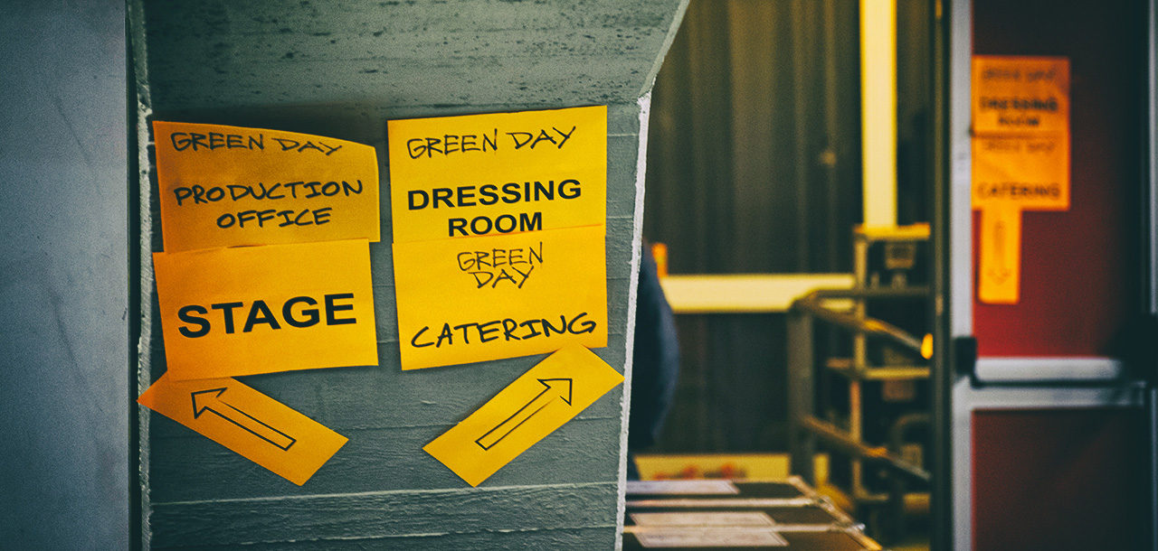 Backstage Green Day, Mathias Marchioni