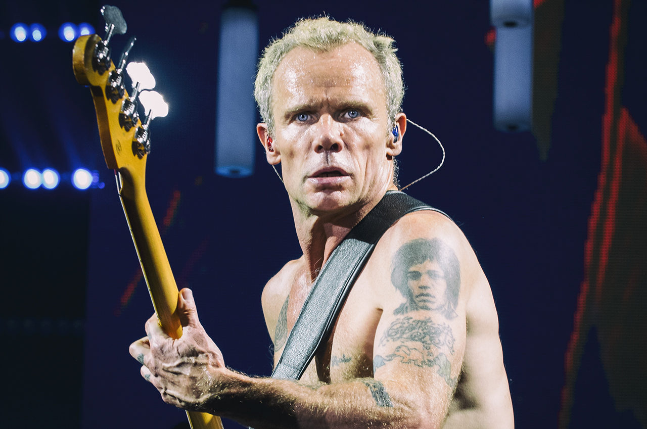 Flea, Red Hot Chili Peppers, Mathias Marchioni