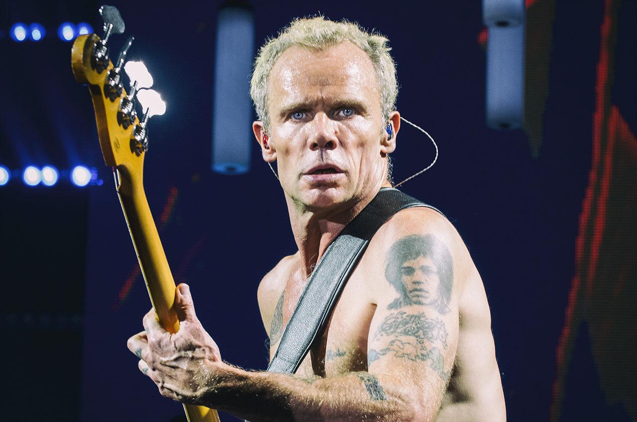 Flea, Red Hot Chili Peppers, Mathias Marchioni