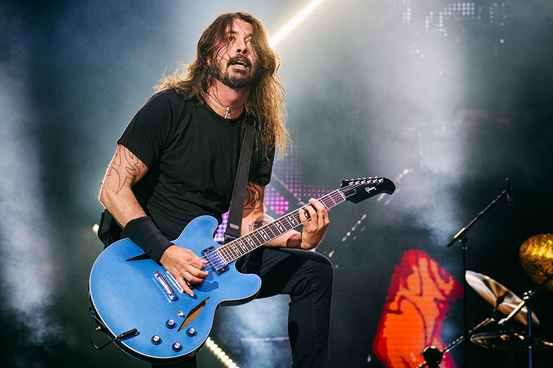 Dave Grohl, Foo Fighters, Mathias Marchioni