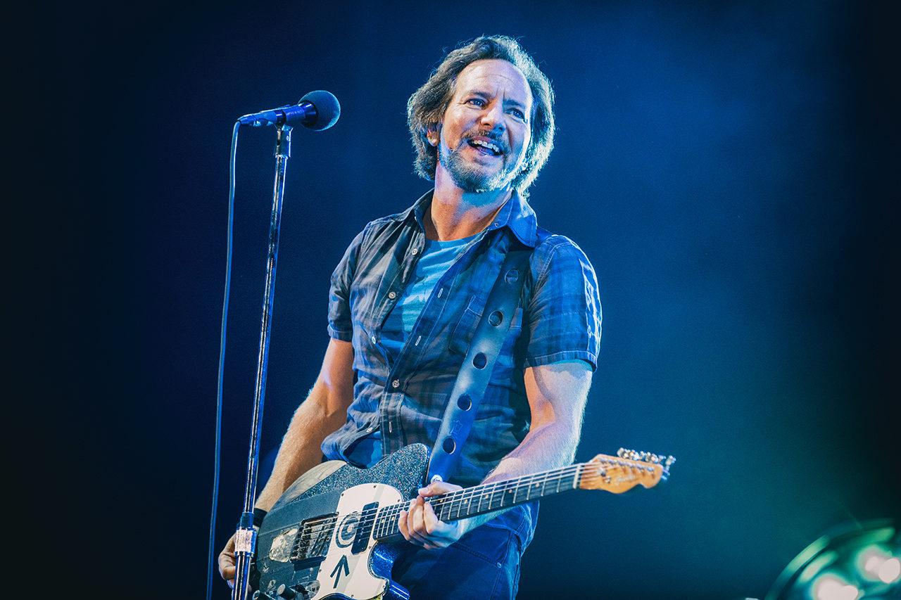 Eddie Vedder, Pearl Jam. 2018 © Mathias Marchioni